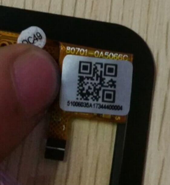 Color blanco de 8 pulgadas en stock para Onda V819I pantalla táctil de ordenador Tablet y panel de vidrio 80701-0A5066C 5066A 0A5066C