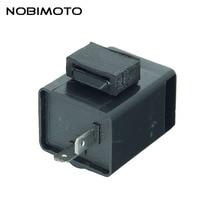 2 pcs/pack 12V 2 broches moto relais clignotant électronique LED clignotants clignotant clignotant relais adapté pour Dirt Bike ATV Quad DQ-186