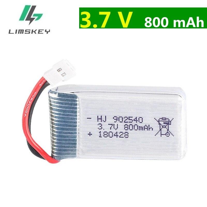 Батарея для Syma X5 X5C X5S X5HW X5HC X5SW M68, 4 оси, 3,7 В, 800 мАч, 902540, 25C, 20 шт./лот