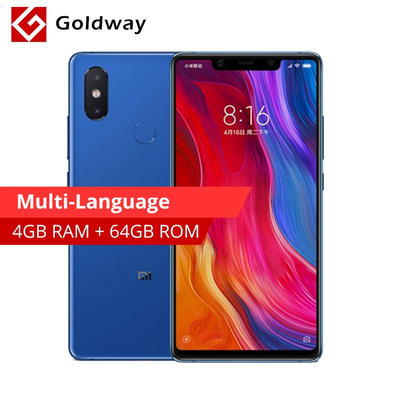 "Original Xiaomi mi 8 SE 4GB 64GB mi 8 SE Smartphone 5,88 ""18,7 9 Pantalla Completa Snapdragon 710 Octa Core 3120mAh 20MP cámara frontal"