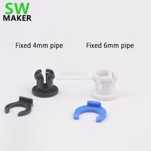 SWMAKER 1 sztuk rury sprzęgła Collet bowden zacisk rury + koń zacisk zacisk do 4mm 6mm rury części drukarki 3D