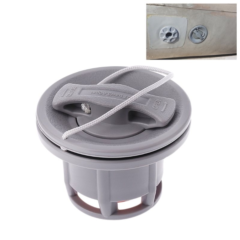 anti corrosion seal air valve caps screw valve for inflatable boat fishing boat air bed intex mattress dinghy raft boat parts OOTDTY 8 Holes Inflatable Boat Raft Dinghy Kayak Canoe Accessorie Air Valve Adapter Cap  Canoe valve