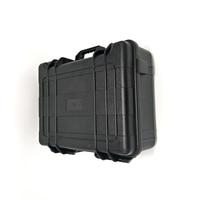 Internal size 505*385*200mm Plastic waterproof tool case tool box for metal detector