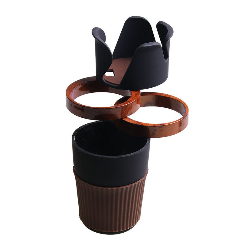 Multifunction Car Drinking Bottle Holder Rotable Water Cup Holder Phone Sunglasses Organizer Univers
