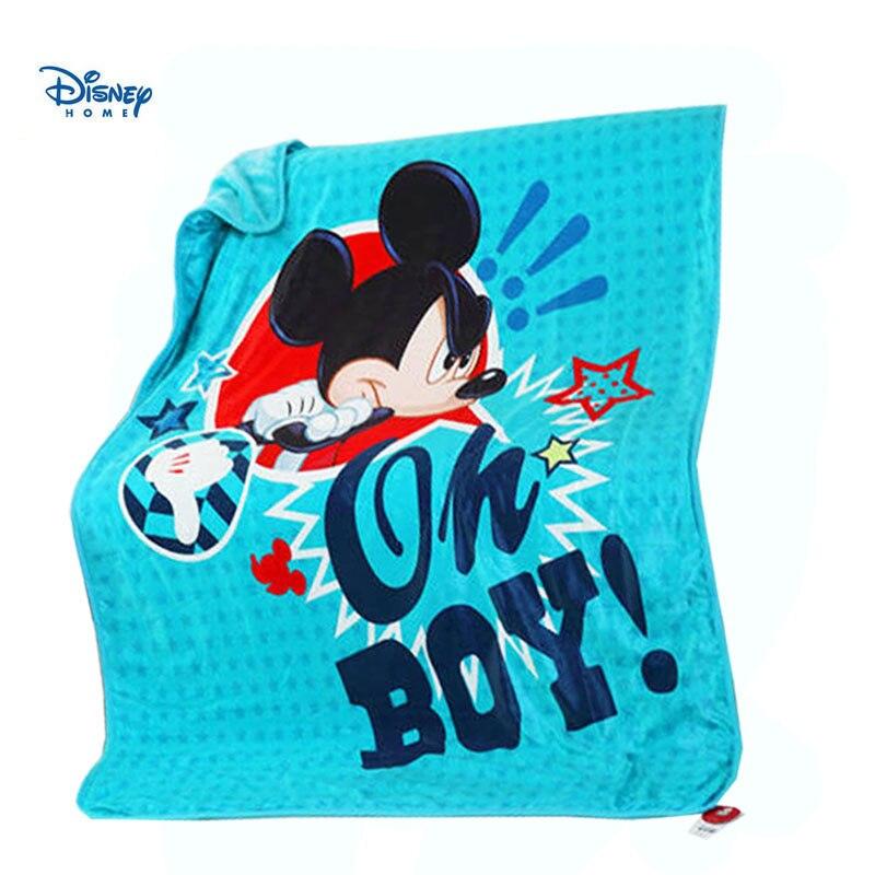Manta Coral polar disney 120*150cm dibujos animados mickey minnie mouse individual tamaño doble ropa de cama suave para sofá coche Manta