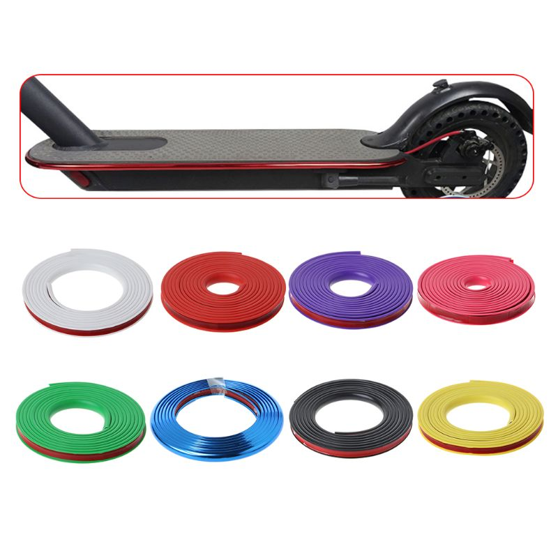 Electric Scooter Anti-collision Protection Strip For Xiaomi Mijia M365 Skateboard Body Bumper Scratchproof Scratch Resistant Dec