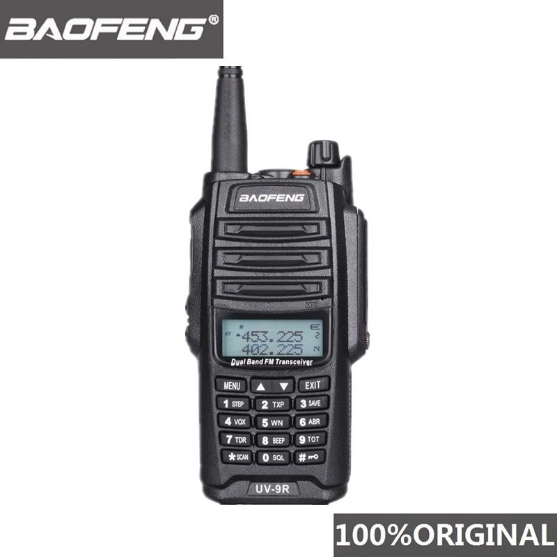 Original Baofeng UV-9R IP67 UV9R À Prova D Água Dual Band Vhf Uhf Walkie Talkie Ham Radio CB Rádio em Dois Sentidos Walky Talky estação UV 9R