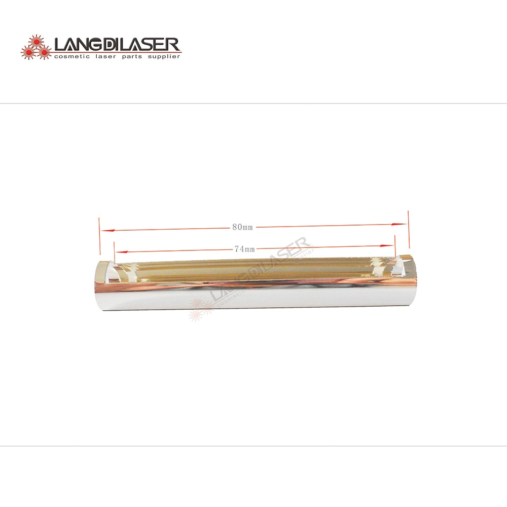 IPL handle reflector ,size : D13mm*80mm , hanndle reflect parts E-light hand piece
