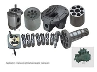 hitachi hydraulic pump hpv145 spare parts replacement