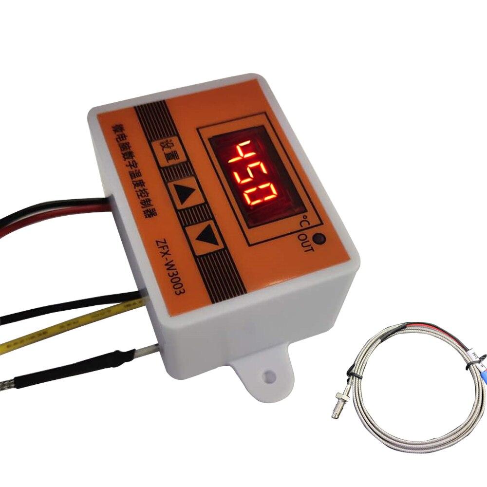 Controlador de temperatura pequeño multifunción de W3003, controlador de motor de combustible de aceite vegetal, regulador Industrial de alta precisión
