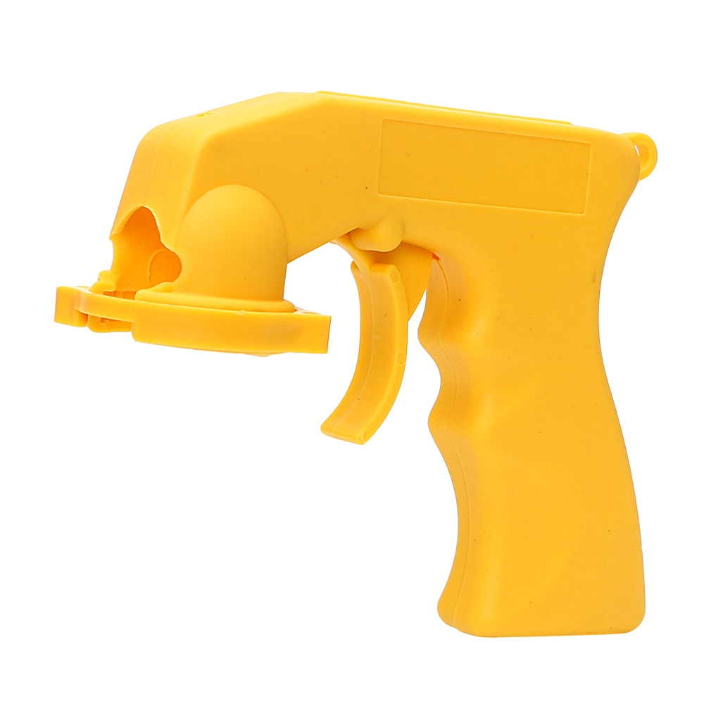Spray Adaptor Portable Car-styling Aerosol Spray Gun Paint Gun Locking Collar Handle With Full Grip Trigger Car Care