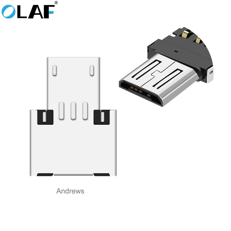 Olaf Mini Micro USB to USB OTG Adapter Male to USB 2.0 Micro Adapter Converter For Samsung Xiaomi LG