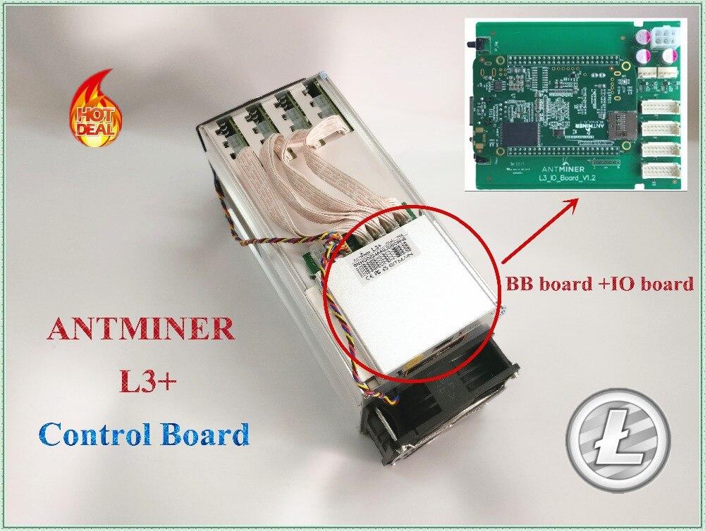 ANTMINER L3 + لوحة تحكم لوحة تحكم جديدة تشمل IO مجلس و BB مجلس مناسبة ل ANTMINER L3 +. من YUNHUI
