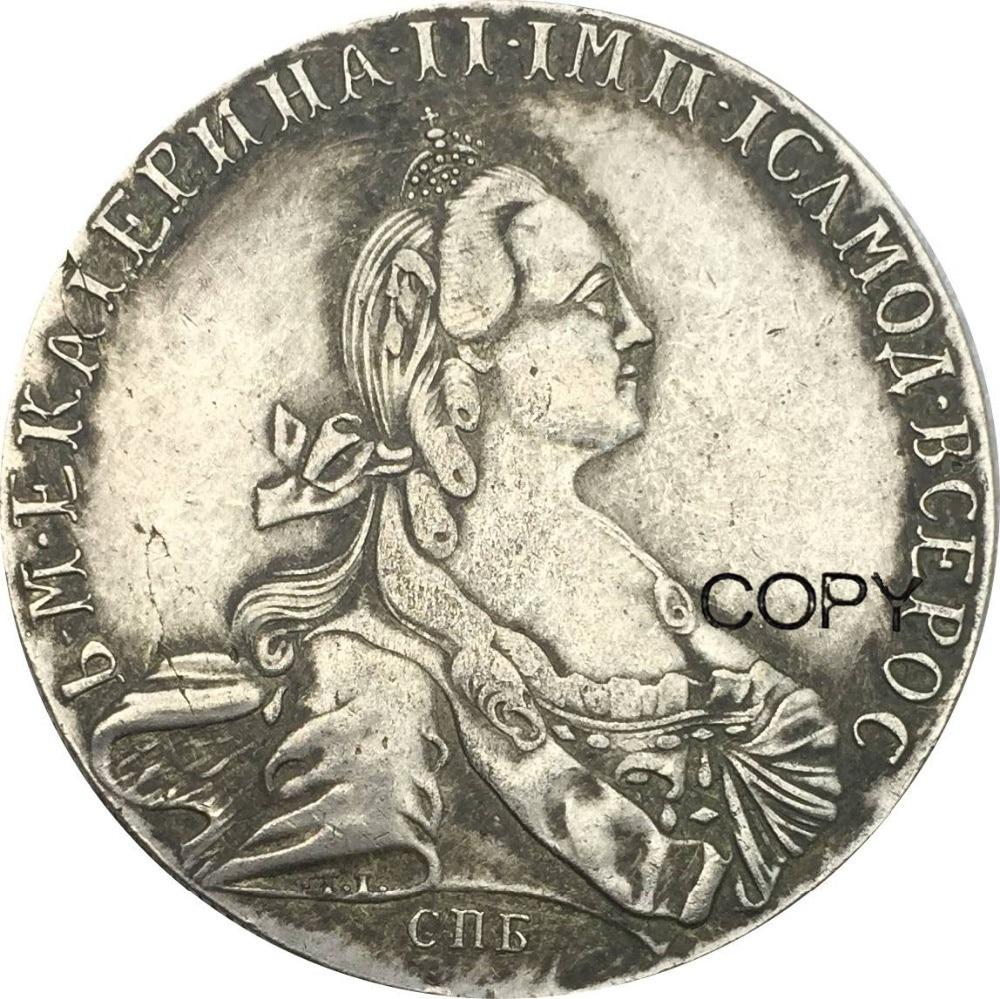 1783 de 90% copia de plata moneda