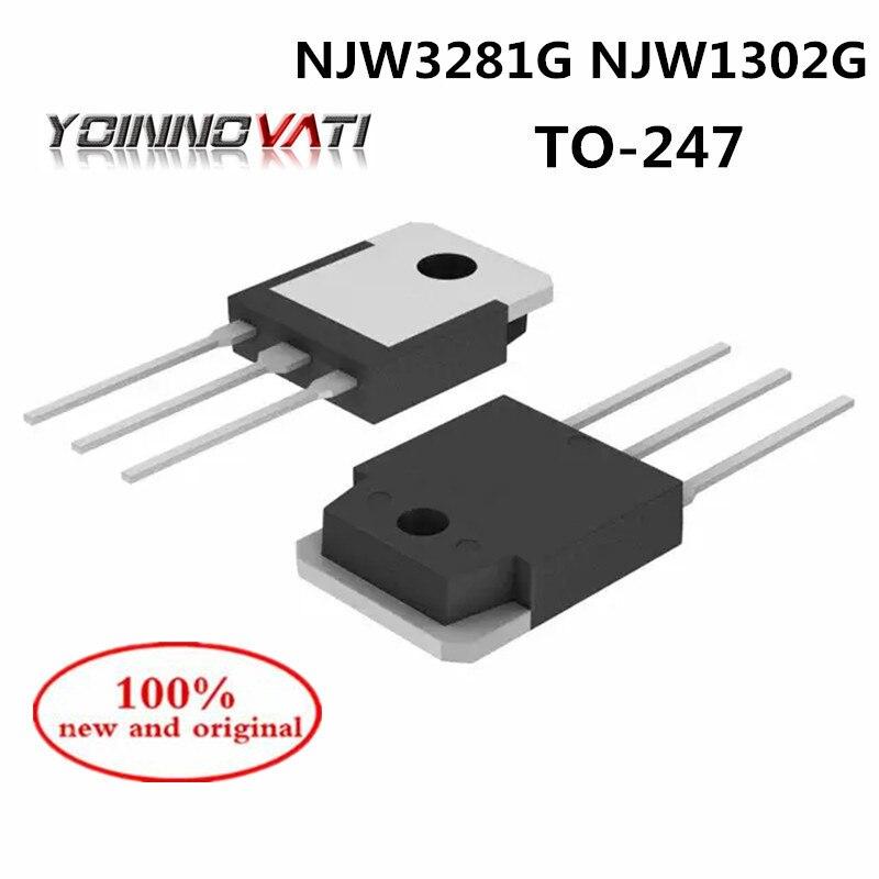 NJW1302G NJW3281G NJW1302G NJW1302 NJW3281 TO-247 силовой усилитель труба 250 В 15A 100% новый и оригинальный