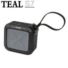 Teal W-KING S7 Portable NFC sans fil étanche Bluetooth 4.0 haut-parleur avec 10 heures de jeux pour lextérieur/douche 3 couleurs
