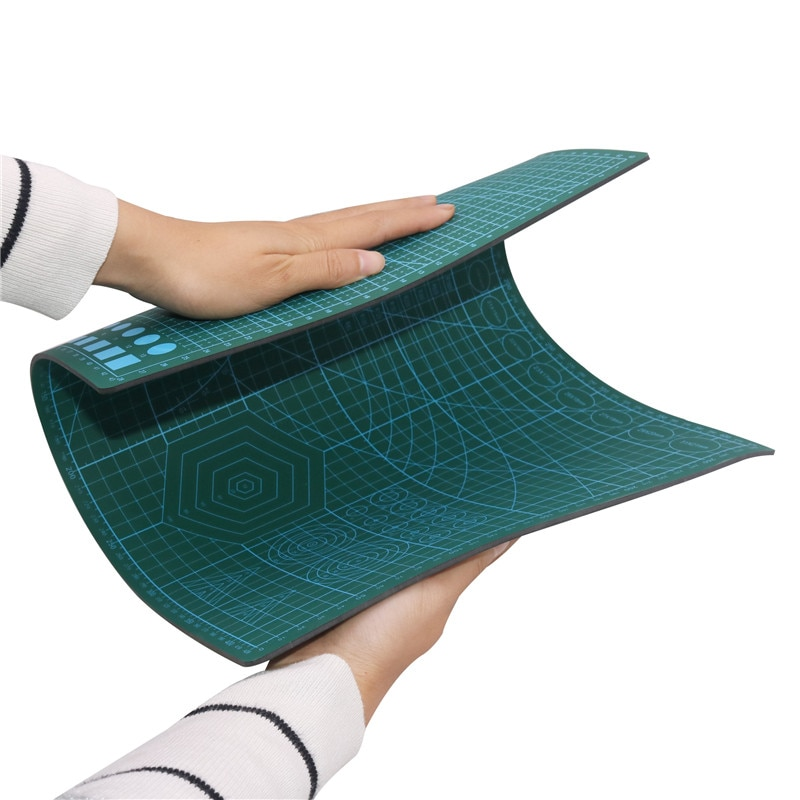 Esteira de corte a3 430*280*3mm flexível o suficiente grande modelo almofada de faca de corte efetivamente atender seu uso auto cura esteira de corte