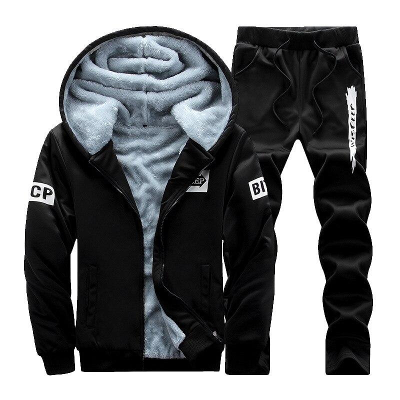 Novo masculino engrossar terno de beisebol designer impressão plus size inverno hoodies velo camisa moletom masculino sportwear 4xl afd85