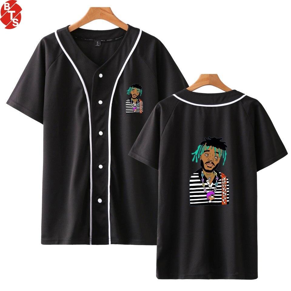 LIL UZI VERT Hip Hop Printed Baseball T-shirts Women/Men Summer Short Sleeve Fashion Tshirts Casual Rapper Hot Sale Tee Shirts