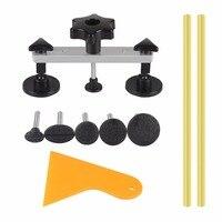 Car Dent Repair Kit Car Body Repair Tool Dent Puller Kit Rubber Shovel Glue Sticker New Version Update