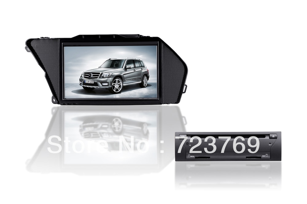 Carro dvd gps para mercedes-benz glk classe x204 (2008-2012)