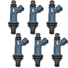 Топливный инжектор для Toyota Avalon Camry, 6 шт., Sienna Solara 3.0L V6 1999-2004 23250-0A010 23209-20020 23250-20020