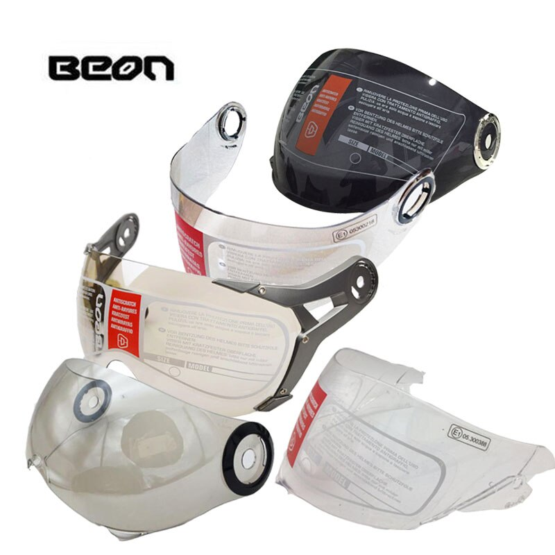 B100 B108A B110 B110A B110B B216 B500 B700 moto rcycle lente de casco claro plateado negro moto rbike moto Cruz lentes de cascos