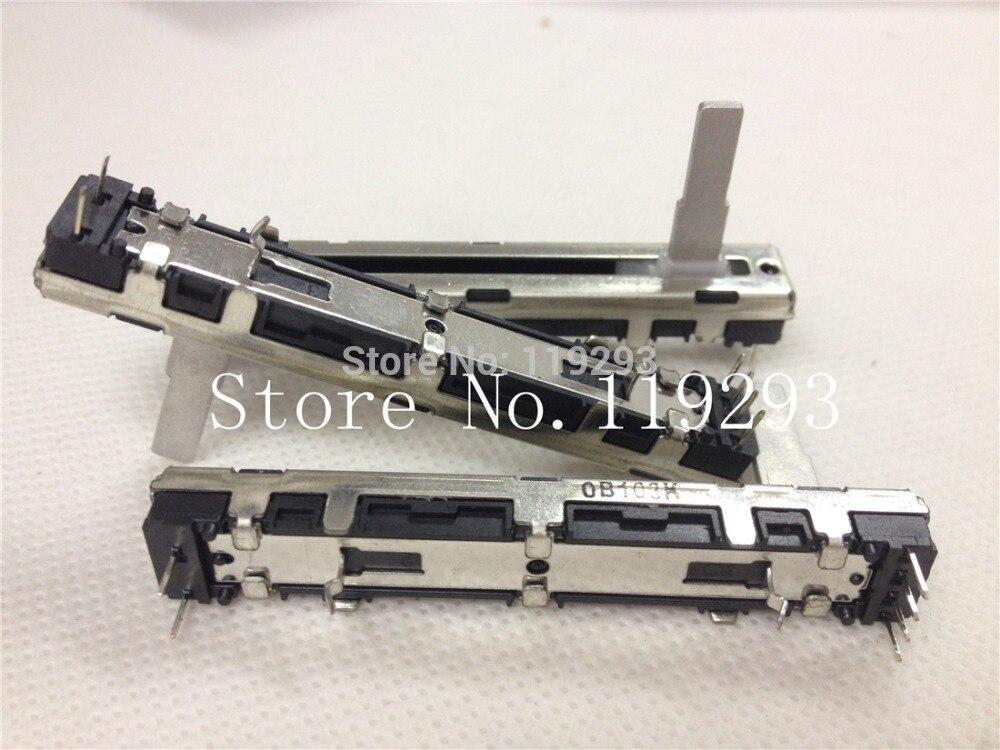 [Bella] NOBLE XVJ45NPV17.3C = OB10K = interruptor de potenciómetro deslizante de 5131 6 cm B10K con un solo mango 17 MM -- 10 unids/lote