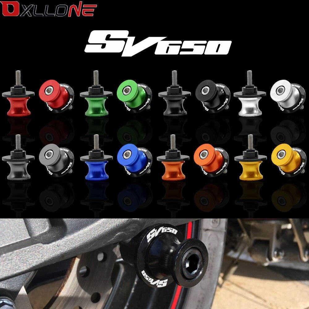 8mm CNC basculante carretes deslizadores brazo oscilante para Suzuki SV650 SV650S SV1000 SV1000S SFV650 TL1000S TL1000R TL1000 R/S