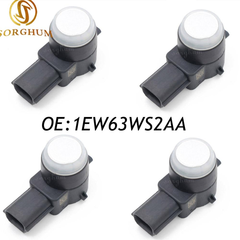 4 piezas 1EW63WS2AA aparcamiento PDC ayudar Sensor para Dodge Jeep Chrysler 0263003786