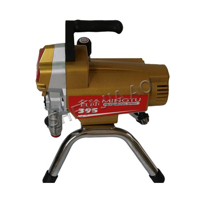 395 Airless pistola de pintura de alta presión profesional cuadro de pared pulverizadores máquina eléctrica equipo de pintura 220V 2000W 1PC