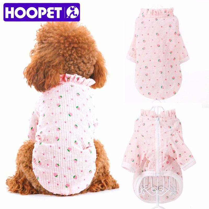 HOOPET Neue Hund Kleidung Bunte Transparent Sonne Schutz Teddy Welpen Sommer Tragen Licht Haustier Mantel Jacke