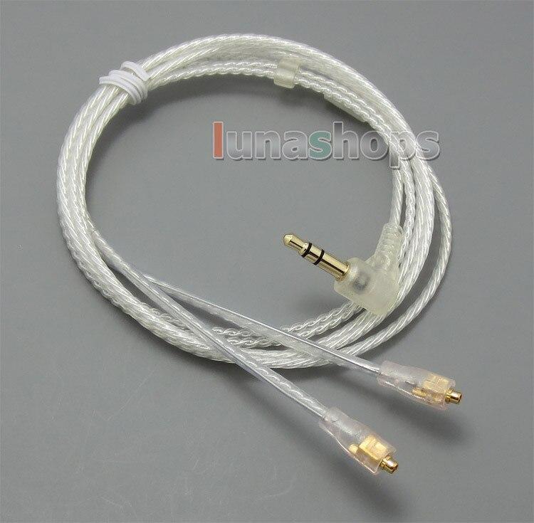 Con gancho para auriculares Cable Chapado en plata para Westone UM10pro UM20pro...