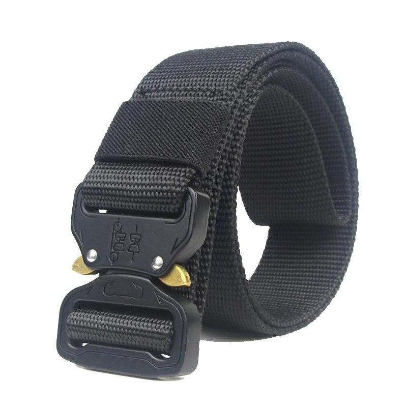 Cinturilla táctica para hombre cinturón de cintura ajustable resistente ejército militar entrenamiento equipo de caza Accesorios