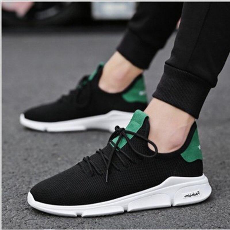 WENYUJH nuevos hombres vulcanizar zapatos de los hombres zapatillas de deporte resistente al desgaste antideslizante calzado para hombre de talla grande tenis masculino