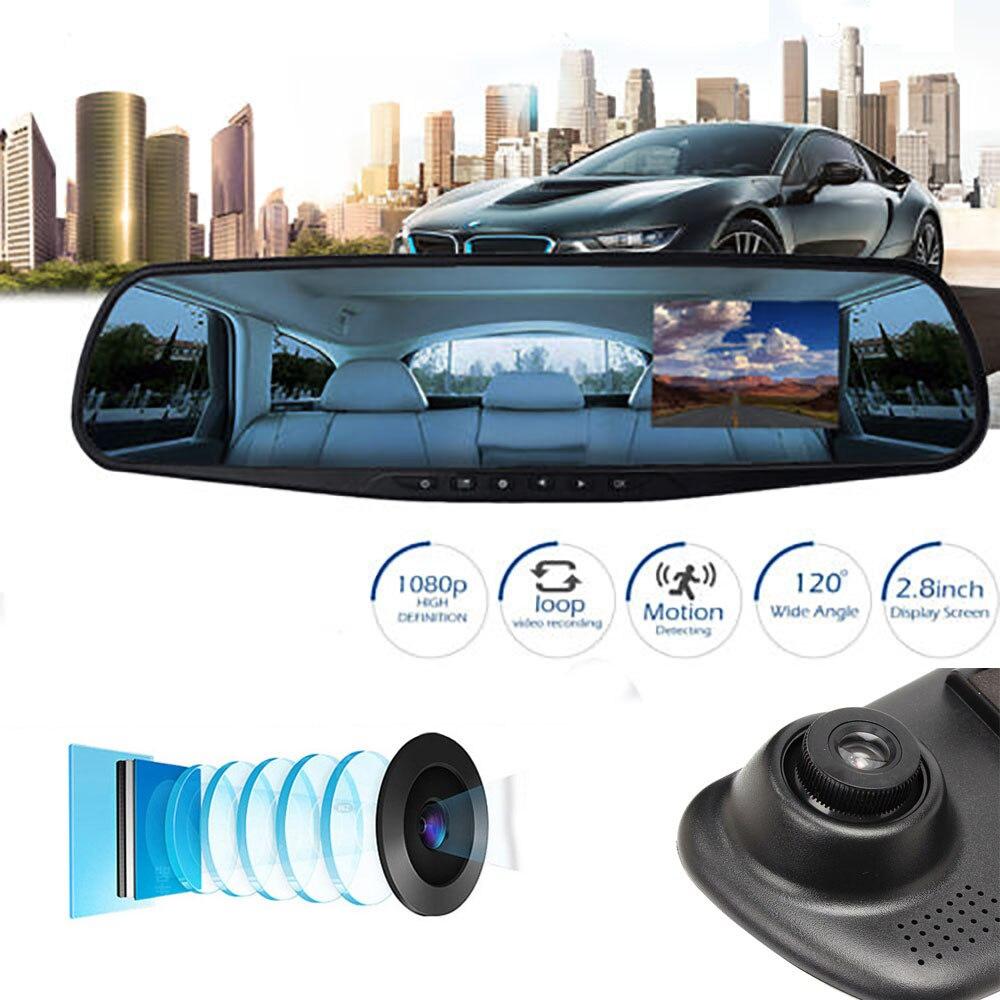 Новый стиль 2 8 дюймов ЖК экран 170 градусов объектив HD 1080P камера Автомобильный