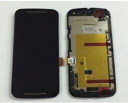 Pantalla LCD MONTAJE DE digitalizador con pantalla táctil con marco para Motorola MOTO G2 XT1063 XT1068 XT1069 piezas de repuesto