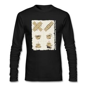 Best Gift Promotional T Shirt Graith Creator Metal Gear Solid Mens Full Sleeve Size XL 100% Cotton Long Sleeve O Neck Regular