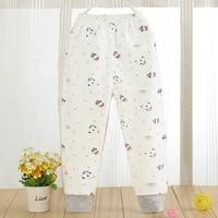 2018 new baby pants quality children leggings long johns pure cotton a single boy warm trousers girls pants