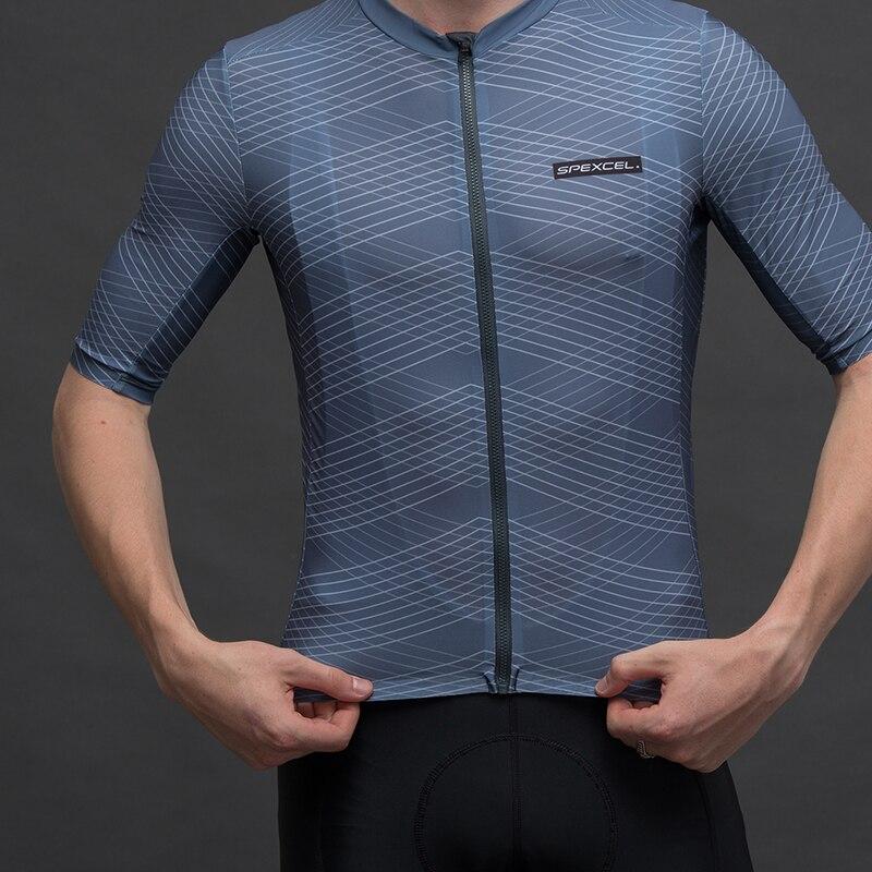Spexcel 2019 novo núcleo pro equipe leve manga curta camisa de ciclismo secagem rápida proteção uv camisa ciclismo unisex