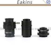 0,5x 0,3x 1X adaptateur dobjectif c-mount 1/2 adaptateur CTV pour 1X SZMC TV1/2 SZMC TV1/3 accessoires de caméra pour Microscope stéréo trinoculaire