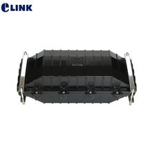 Boîte de clôture optique de fibre de noyau de 144/288 4 dans 4 3 dans la boîte de joint ignifuge imperméable de ftth de 47*23*16cm 3.3KGs