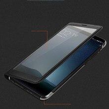 Para Xiaomi Redmi Caso Redmi 5 5 Mais Completo Ver Janela PU LEATHER Flip Tampa Funda capa Xiaomi Redmi 5 além de caixa de proteção