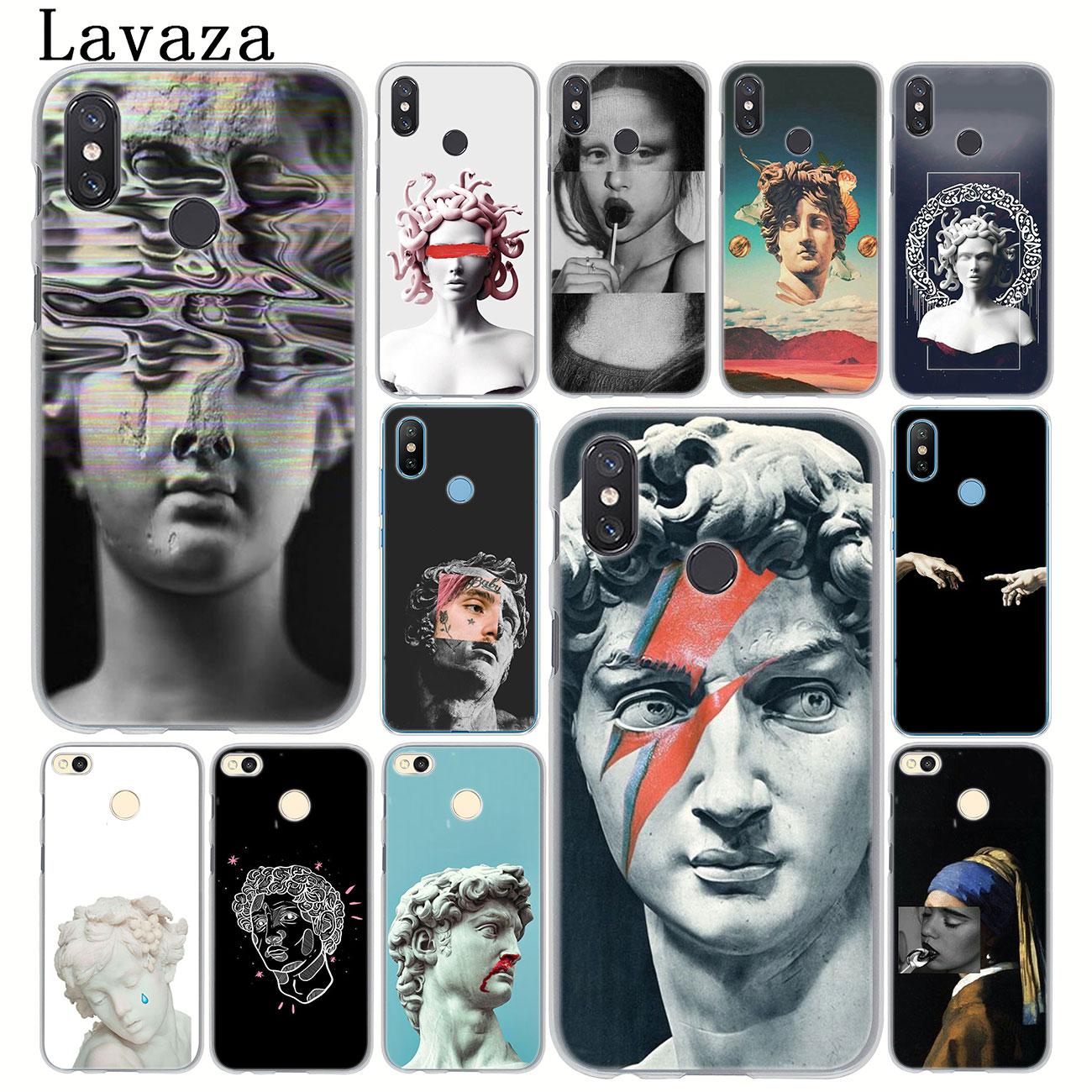 Lavaza Kunst David Statue blume Telefon Fall für Xiao mi mi 9 9T A3 Pro CC9 CC9E 8 SE a2 Lite A1 pocophone f1 6 6X5 S 5X MAX 3