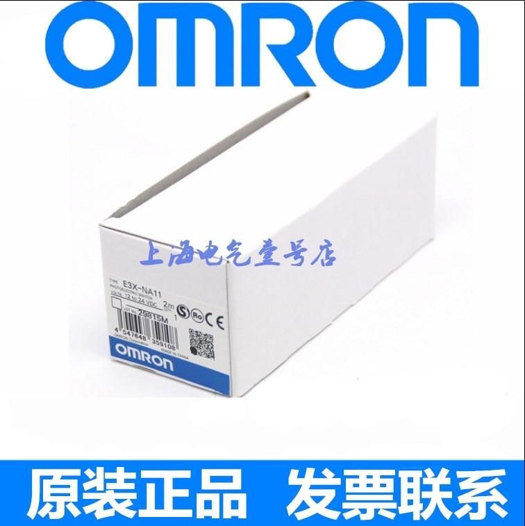 Original authentic High quality Omron new fiber amplifier E3X-NA11 E3X-NA41 2M warranty 2 years