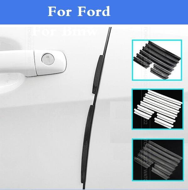 Auto Door Guardie di Edge Trim Stampaggio Scratch Protector Per Ford Fusion GT KA Kuga Maverick Mondeo ST Mustang Taurus X thunderbird