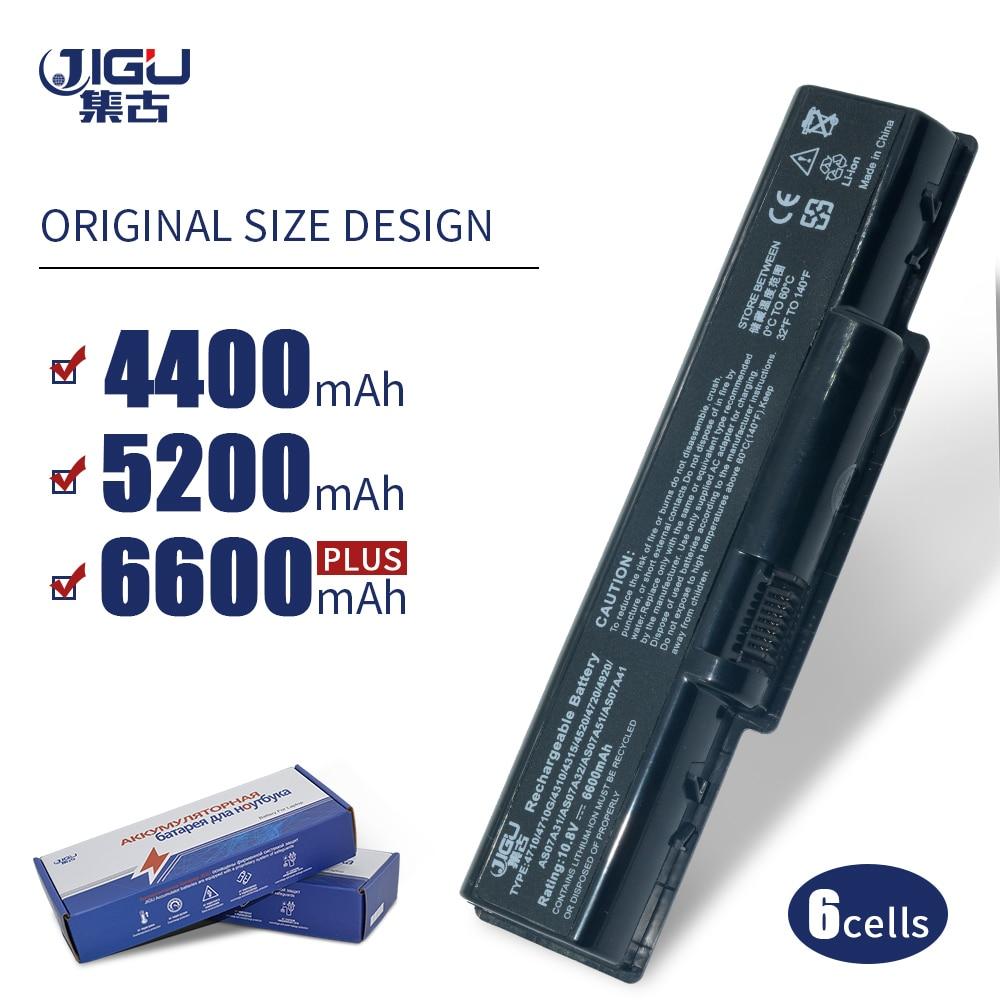 JIGU batería del ordenador portátil para Acer AS07A51 AS07A75 Aspire 5738 5738G...