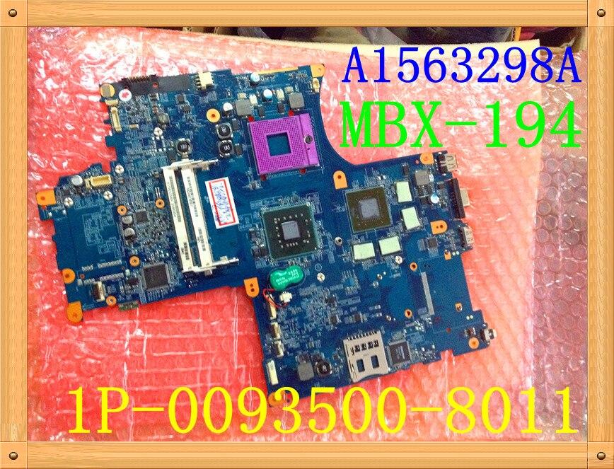 لسوني Vaio Vgn-aw11m اللوحة الأم للكمبيوتر المحمول MBX-194 1P-00935500-8011 A1563298A 100% TESED OK