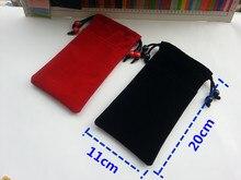 New 5.5 ''Sacos de flanela RF Bloqueador de Sinais Anti-Radiação Protetor do Bolsa para o iphone 4 4S 5 5S 5c 6 s Huawei Xiaomi Samsung