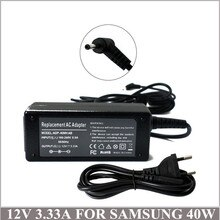12V3. 33A 40 Watt Laptop Adapter Ladegerät Für Ordenadores Portatiles Samsung ATIV Smart PC XE500T1C-A01NL ATIV Smart PC 500 T